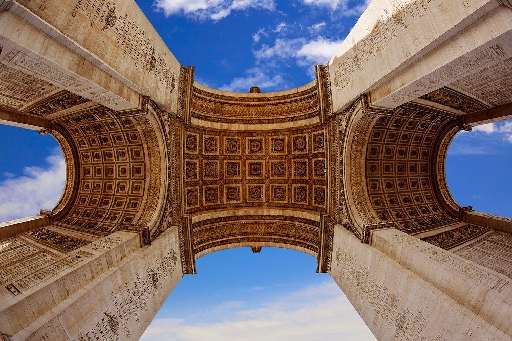 طاق پیروزی پاریس arc de triumph , Paris