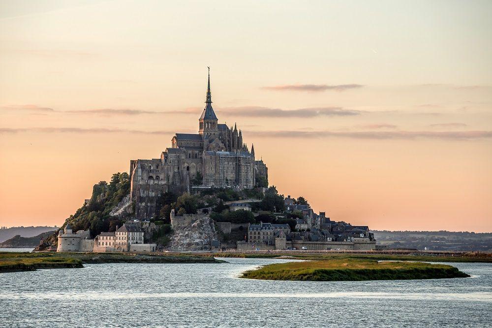 مون سن - میشل، نورماندی Mount Saint Michlel , Normandy