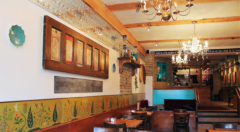 رستوران تخت طاووس