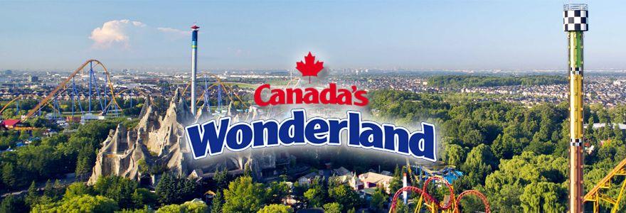 سرزمین عجایب کانادا Canada's Wonderland